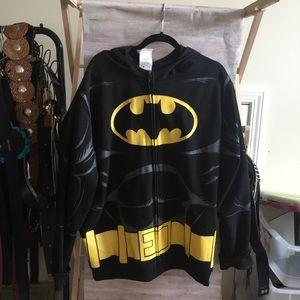Batman L/XL costume hoodie